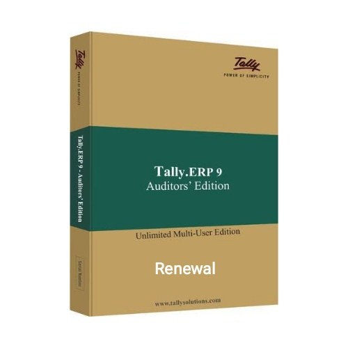 Tally ERP9 Auditor-Multi User-Renewal