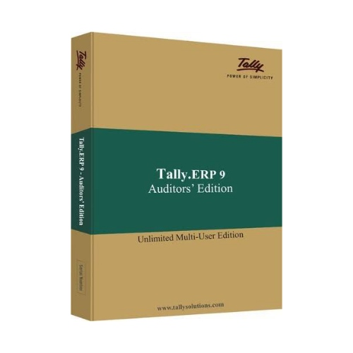 Tally ERP9 Auditor-Multi User