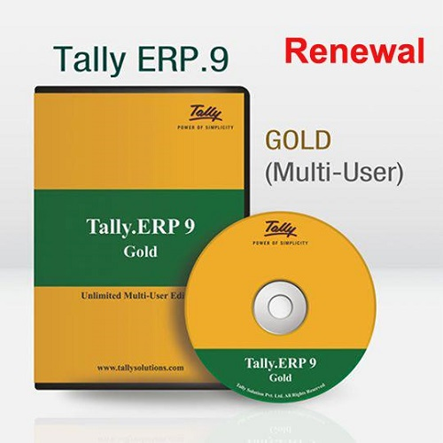 Tally ERP9 Gold- Multi User-Renewal