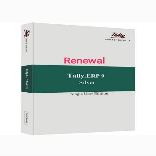 Tally ERP9 Silver-Single User-Renewal